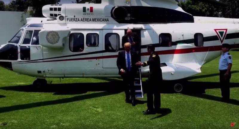 Peña financía viaje de Trump a México y se mete en problemas legales