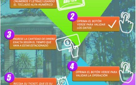 Práctico y fácil, será utilizar los nuevos parquímetros en Tecate