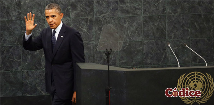 Barack Obama en su última participacion en la Organización de Naciones Unidas