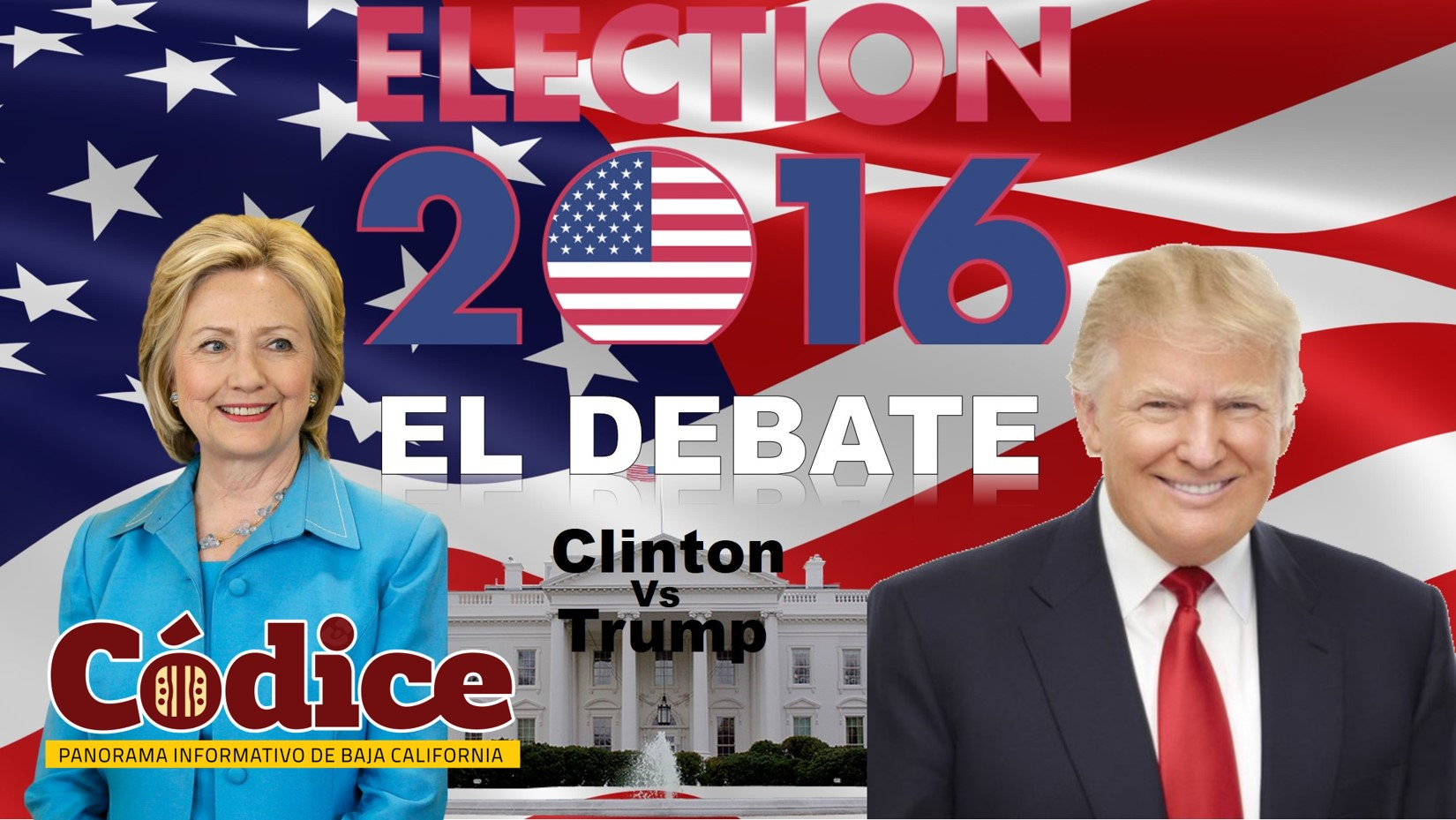 Clinton vs Trump el debate