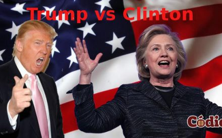 Debaten Clinton vs Trump