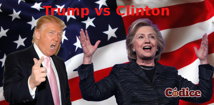 Debaten Trump vs Clinton