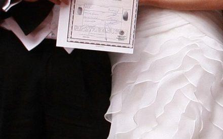 Inicia recepción de documentos para Matrimonios y Registros Colectivos