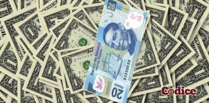 ¿Por qué el dólar subió a 20.08 pesos?