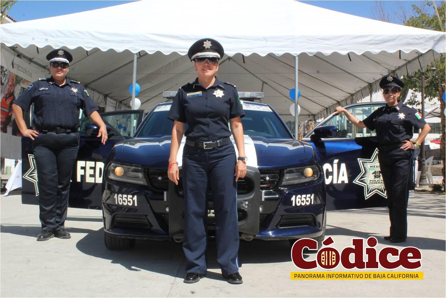 un dia con tu policía federal
