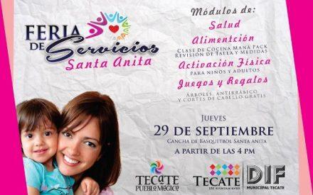 Llevará DIF Municipal Feria de Servicios a Santa Anita