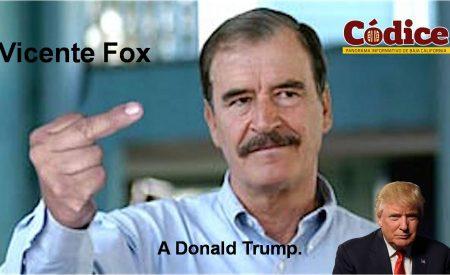 No vamos a pagar un Fucking peso de esa barda: Vicente Fox l VÍDEO l