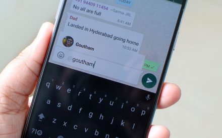 "Ahora Whatsapp te permite ""etiquetar"""