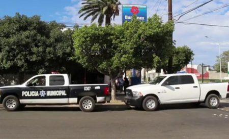 Intento de robo en banco en Tecate