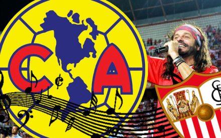 ¿Plagió el América himno al Sevilla?