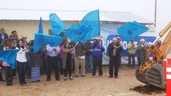 Gobierno del Estado inicia construcción de línea de conducción de agua potable en Tecate