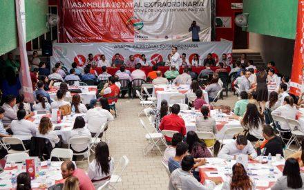 Realiza RJxMBC Asamblea Estatal