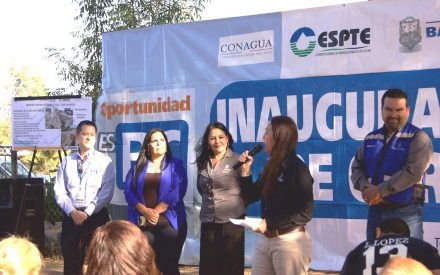 Nueva red de agua potable en los Olivos