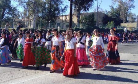 Desfile conmemorativo al Día de la Revolución Mexicana