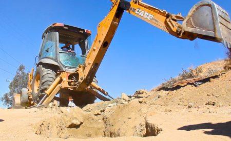 17 mdp en obra hidráulica en Tecate