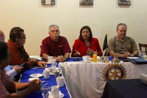 Expone Nereida Fuentes proyectos de Gobierno