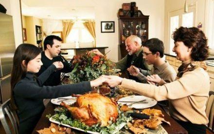 Día de Acción de Gracias, hoy 24 de noviembre