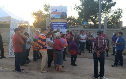 """Instalan de alumbrado público en """"El Hongo"""""""