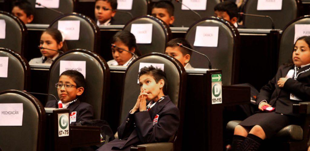 Parlamento de las niñas y niños de México 2017