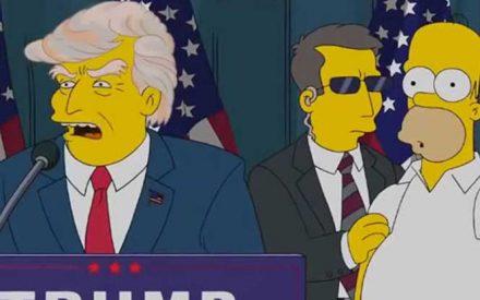 Otra profecía de Los Simpson se cumple: Trump, presidente de EU