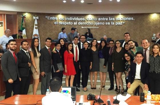 Sesiona Tercer Parlamento de la Juventud