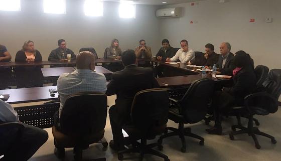 Firma Ayuntamiento de Tecate documento Pro Calidad del Medio Ambiente