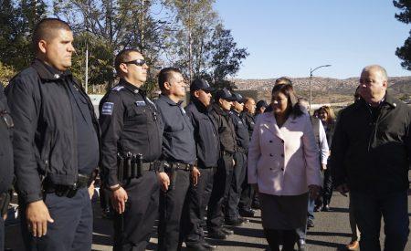 Exige alcaldesa disciplina y honestidad a Policía Municipal