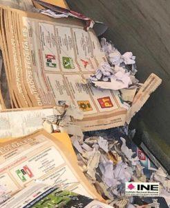 """""""Destruye el INE paquetes electorales del Proceso Electoral 2014-2015"""""""