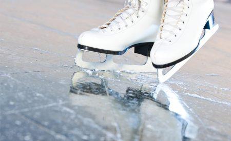 Todo listo para la gran inauguración de la pista de hielo