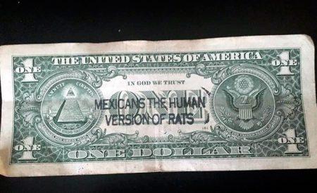 """""""Mexicanos, la versión humana de ratas"""": mensaje sobre dólares"""
