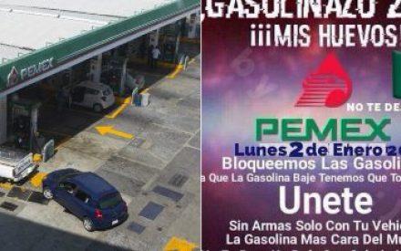 Convocan en redes sociales a bloquear gasolineras