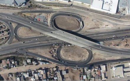 Inician trabajos en el puente del nodo vial de Playas de Rosarito
