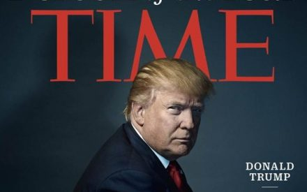 Donald Trump, persona del año de la revista Time