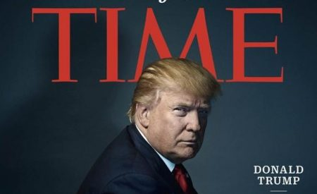 Donald Trump, persona del año de la revista Time