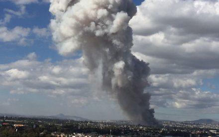29 muertos en explosión en mercado de cohetes