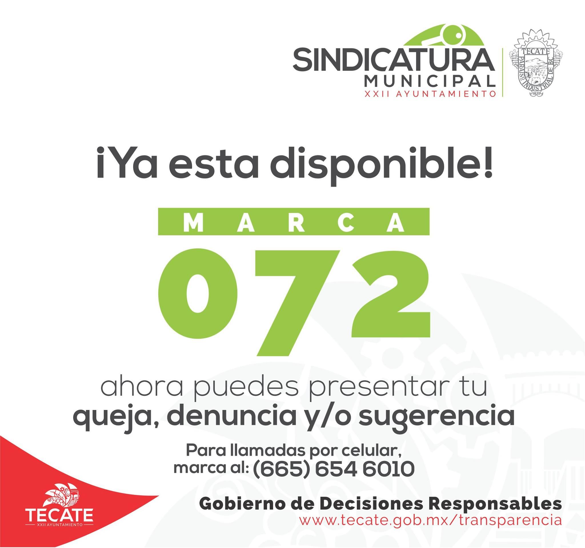 072 Sindicatura
