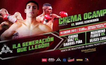 Sábado de box en Tecate