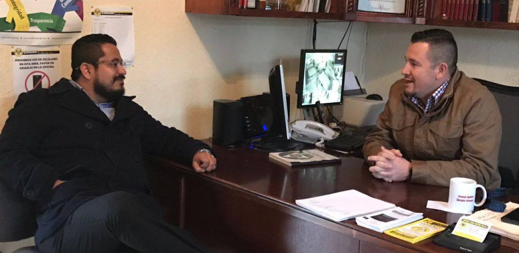 Diputado Benja Gómez visita CRREAD Cuchumá