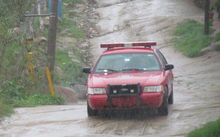 Atiende 231 reportes Protección Civil de Tecate durante lluvias