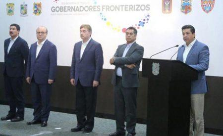Gobernadores fronterizos contra política antiinmigrante de Trump