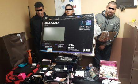 Detienen a presunta banda que se dedicaba al robo a casa habitación