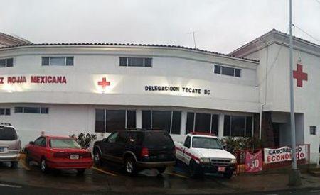Cruz Roja Tecate, reporta capacidad de respuesta