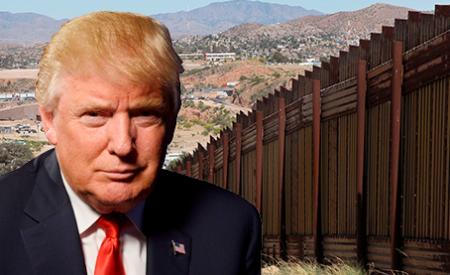Firma Trump orden para construir muro en frontera con México