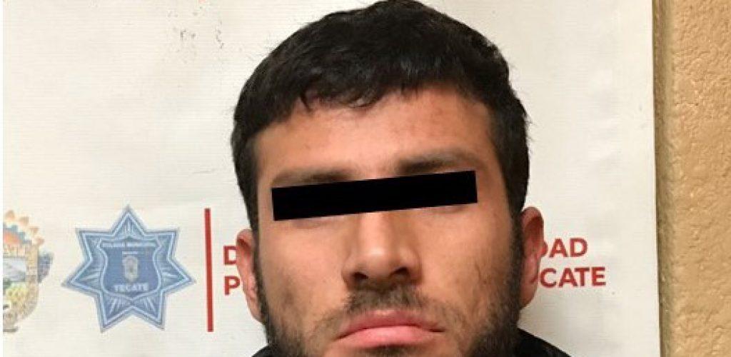 DESMANTELA DSPM TECATE A PRESUNTA BANDA DE ROBACARROS