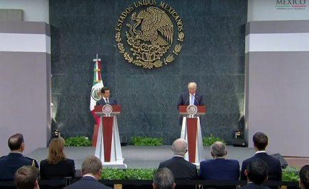 Si México no paga el muro, no habrá reunión: Trump