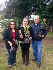 Dirección de Ecología de Tecate dona mil árboles para reforestar las delegaciones municipales