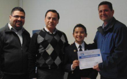 Presenta rendición de cuentas legislador infantil del Distrito 07