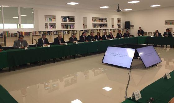 Participa Mandatario Francisco Vega en reunión de Gobernadores y Secretarios Federales