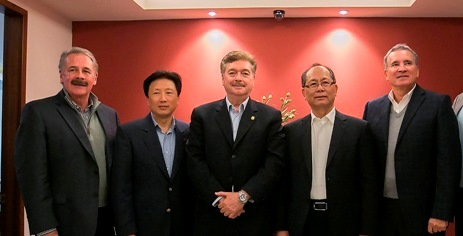 Se reúne Gobernador Francisco Vega con el Embajador de la República Popular China, Qui Xiaoqi