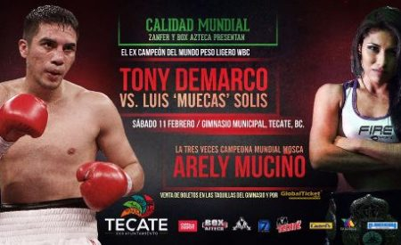 Anuncian función profesional de Box en Tecate para este sábado 11 febrero